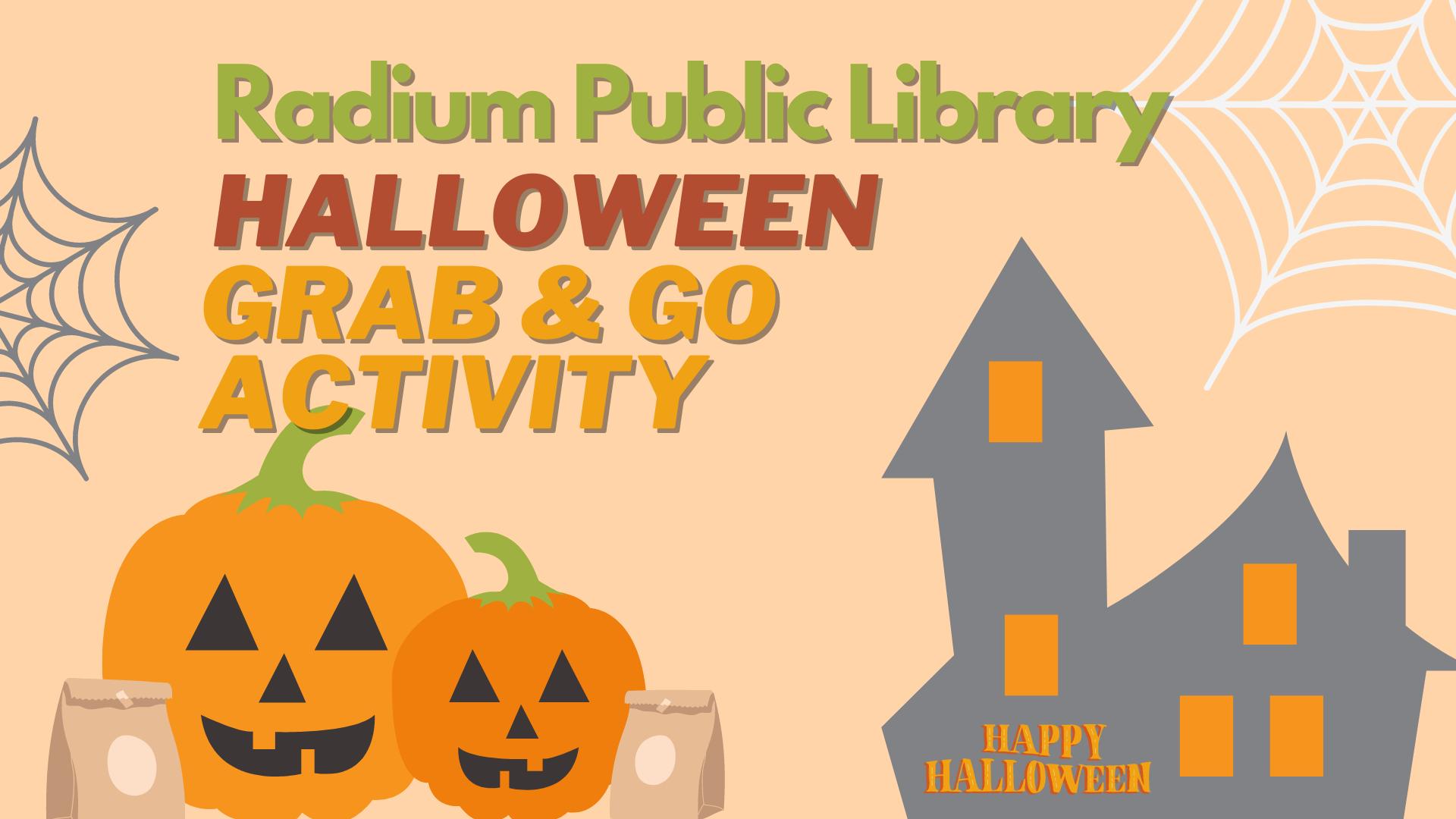Halloween Grab & Go Activity @ Radium Public Library